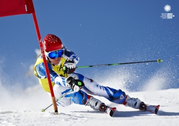Alpine Skiing At The 2020 Olympic Winter Games.Olympic Spirit For Everyone Winter World Masters Games